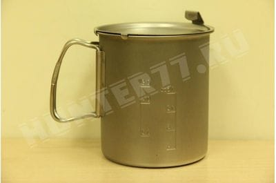 SNOW PEAK TREK 700 TI titanium saucepan with lid