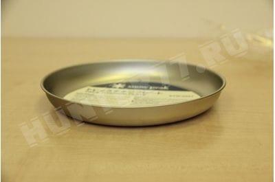 Титановая тарелка 19 см Snow Peak Trek Titanium Plate STW-002T