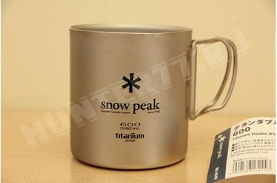 Titan thermomug 0.6L Snow Peak Titanium Double Wall Cup MG-054