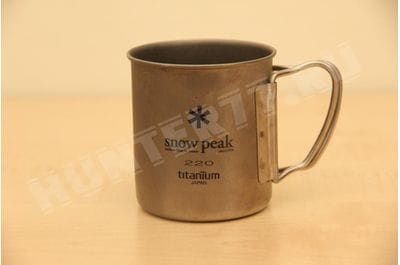 Titanium mug single-wall 220 ml Snow Peak