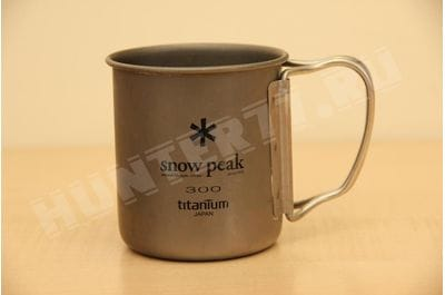 Titanium mug single-wall 300 ml Snow Peak