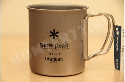 Titanium mug single-wall 450 ml Snow Peak