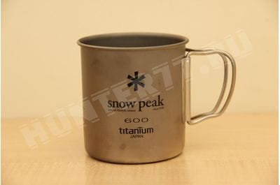 Titanium mug single-wall 600 ml Snow Peak