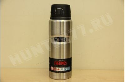 Термос-кружка Thermos Stainless King 24 Ounce Drink Bottle 0,71 L Stainless Steel стальной