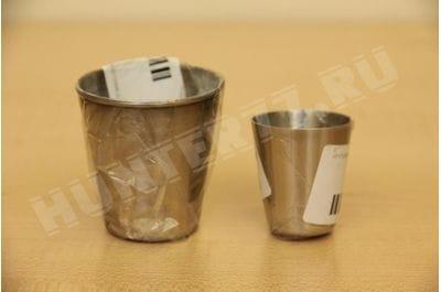 Рюмка стальная 70 ml 5 штук