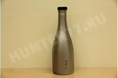 Фляга титановая Snow Peak 540ml TW-540 TITANIUM SAKÉ BOTTLE