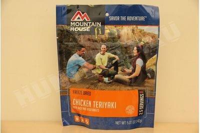 Курица терияки с рисом  пакет 2,5 порции