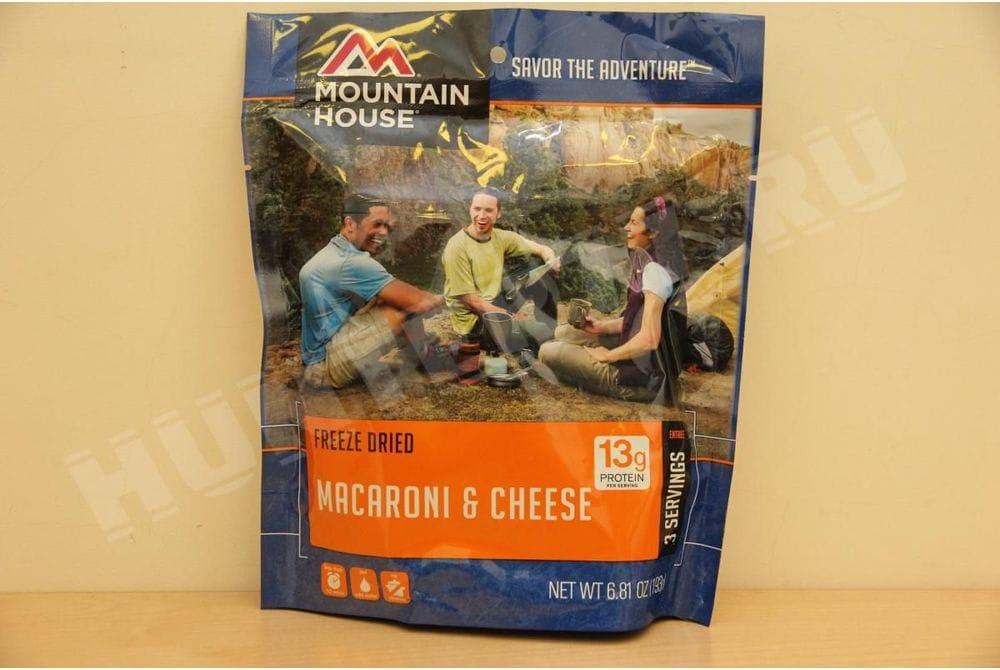 Макароны с сыром, пакет