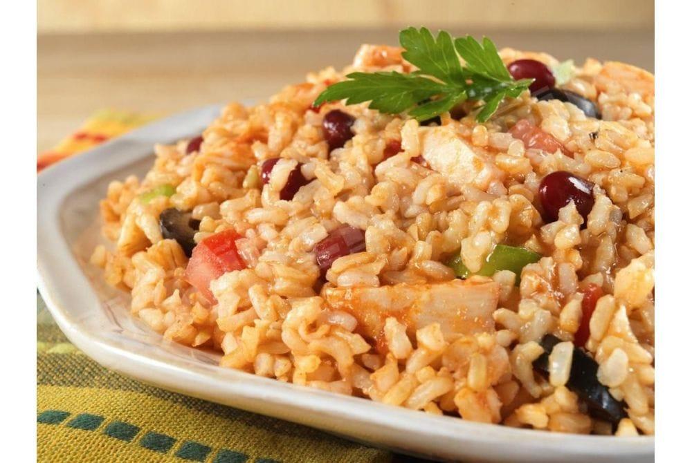 Рис по-мексикански с курицей, пакет
