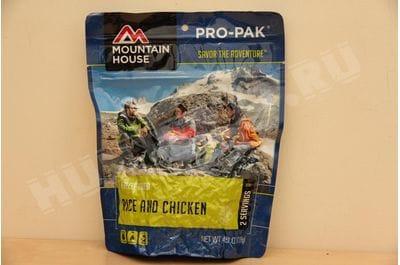 Курица с рисом в соусе чабер Pro-Pak