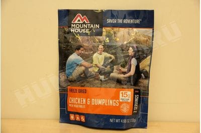 Mountain House Chicken and Dumplings with Vegetables 2 serving