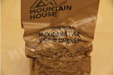 Mexican Rice and Chicken — MCW Mountain House