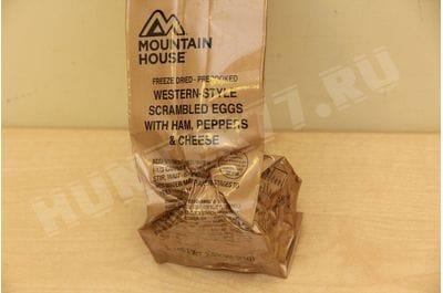 Яичница с ветчиной, сладким перцем и сыром Military MCW