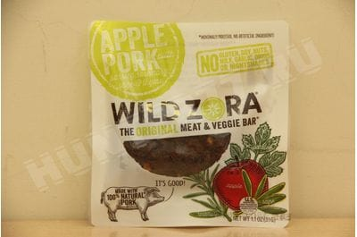 Wild Zora - Apple Pork - Meat and Veggie Bars
