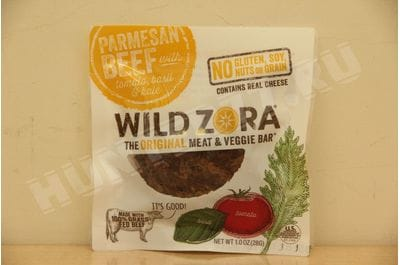 Wild Zora - Parmesan Beef - Meat and Veggie Bars