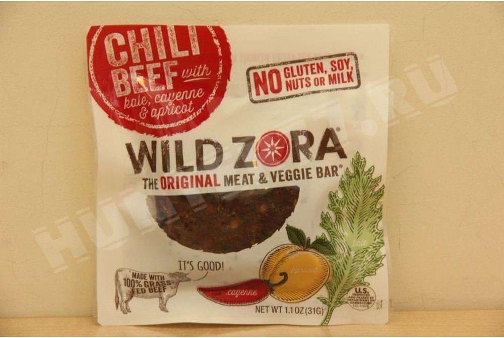 Говядина чили с абрикосами Wild Zora