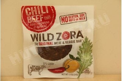Wild Zora - Chili Beef - Meat and Veggie Bars