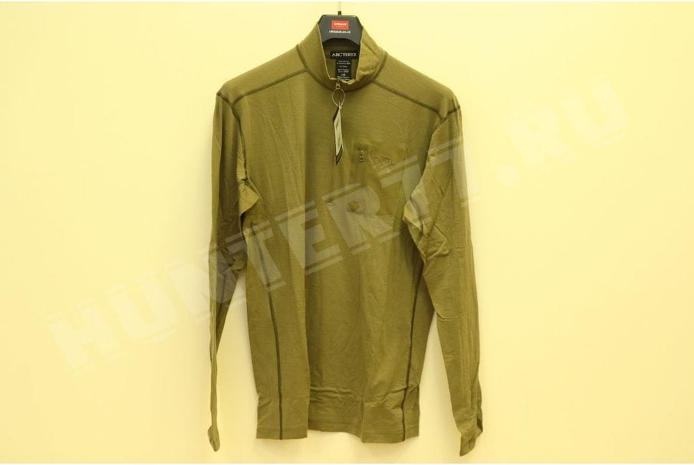 Рубашка Arc'teryx LEAF Cold WX Zip Neck AR