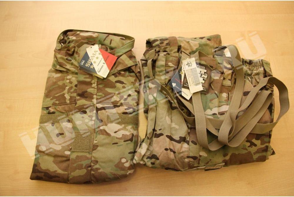 L5 Sigma FR Костюм куртка-штаны негорючий софт-шелл мультикам слой 5.5