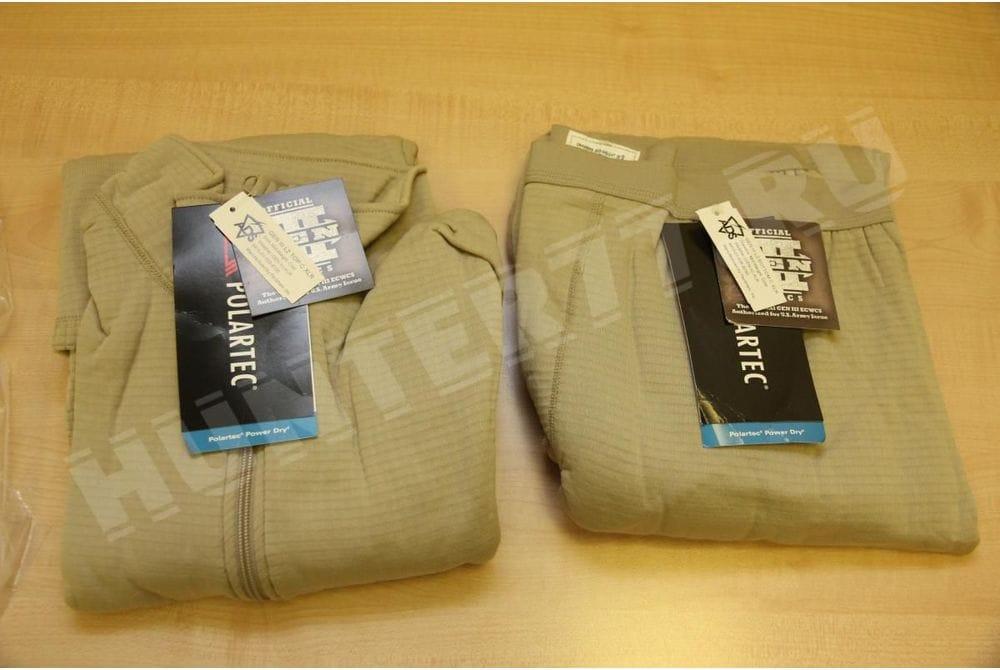 L2 Теплое термобелье Tan рубашка-кальсоны Слой 2 gen iii level 2