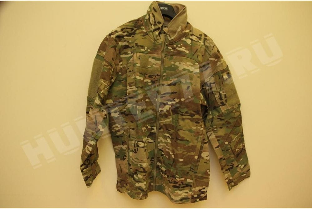 Негорючий тонкий софтшелл КУРТКА Multicam LWOL JACKET Massif  Free