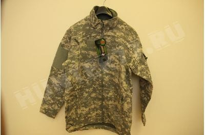 Негорючая куртка ACU Mountain Gear Massif Elements IWOL теплый софтшелл