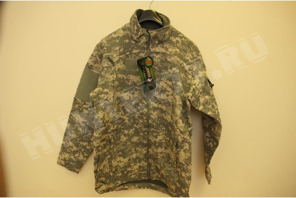 Негорючая куртка Nomex Massif Elements AEP ACU Intermediaiate Weather Outer Layer - IWOL Massif Free (Толстый софтшелл) форма армии США