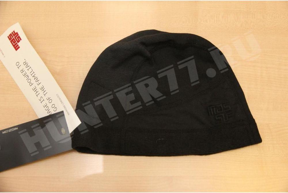 Негорючая шапка Черная Masif