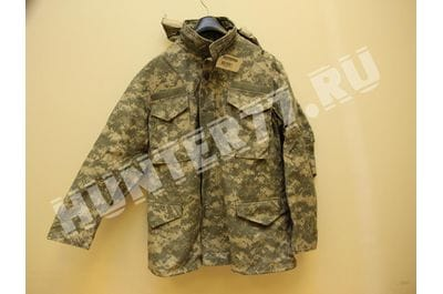 ACU Digital Camo M-65 Field Coat Army M65 Jacket