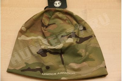 Under Armor hat multicam