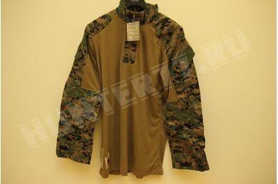 USMC Woodland Digital Combat Shirt