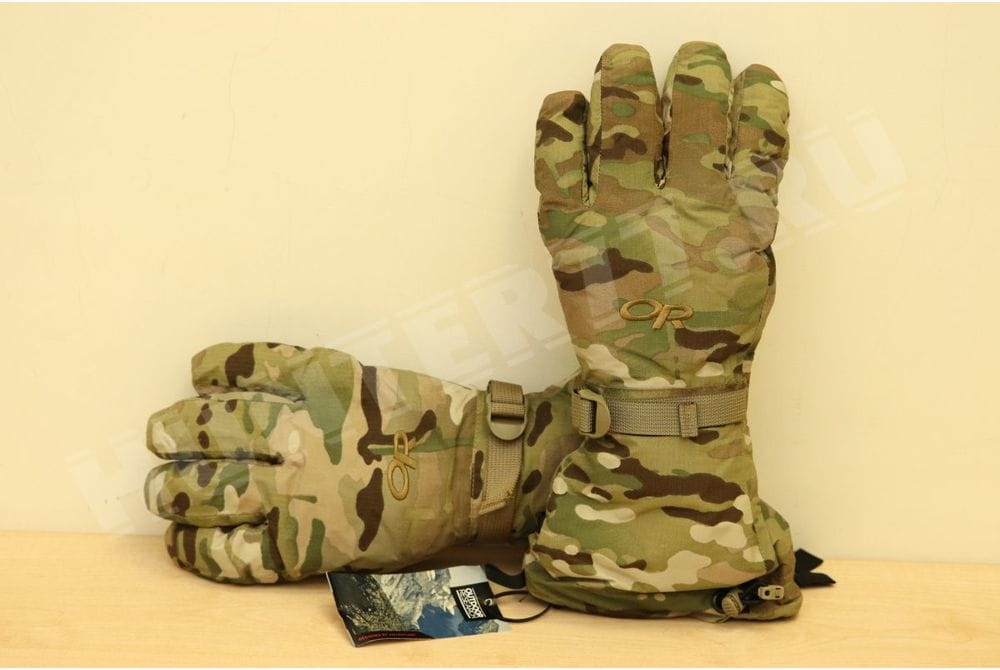 Перчатки Outdoor Research Multicam Firebrand GORTEX Gloves