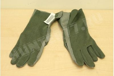 Non-combustible flight gloves for the US Army