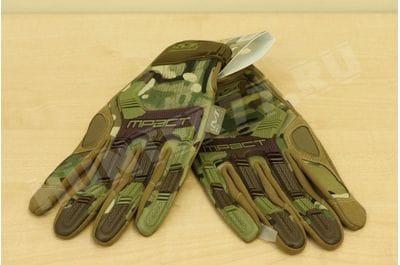 Перчатки MECHANIX M-PACT мультикам тактические