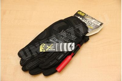 Перчатки  Mechanix M-PACT черные тактические