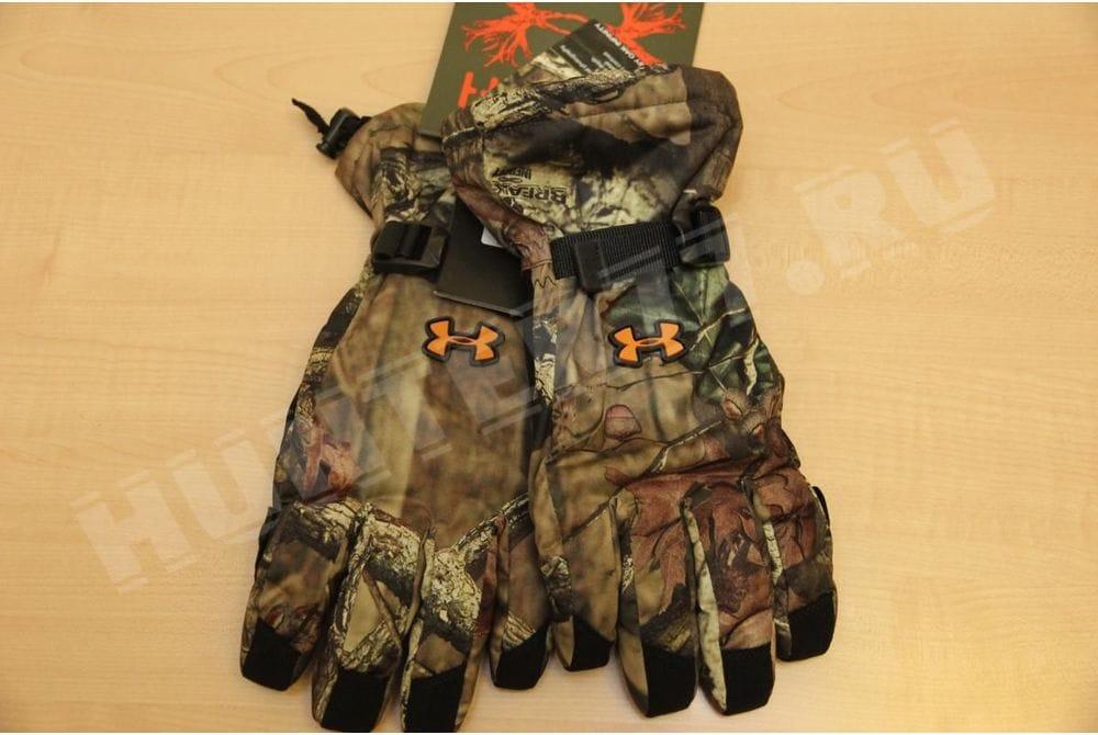 Перчатки охотничьи теплые UNDER ARMOUR