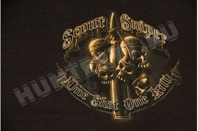 T-shirt Scout Sniper black