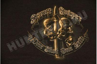 Футболка Scout Sniper черная