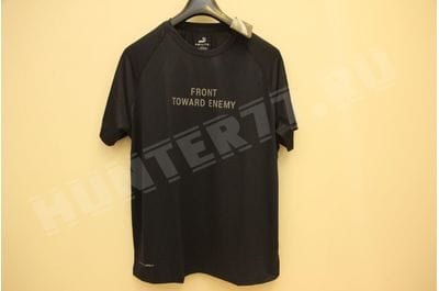 T-shirt Combat Cool blue FRONT TOWARD ENEMY