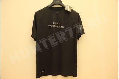 T-shirt Combat Cool black FRONT TOWARD ENEMY