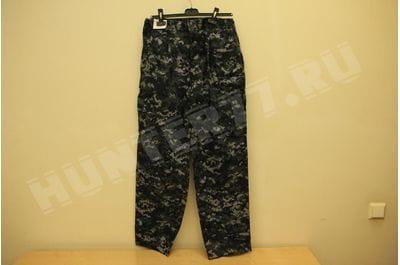 Штаны US Navy Digital Blue 50/50