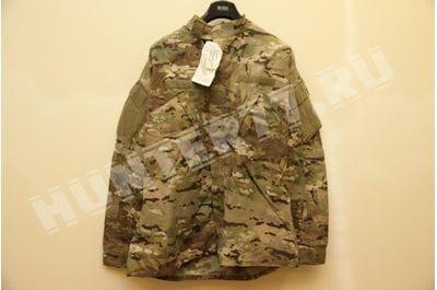 Китель (отдельно) боевая униформа негорючая мультикам Армии США