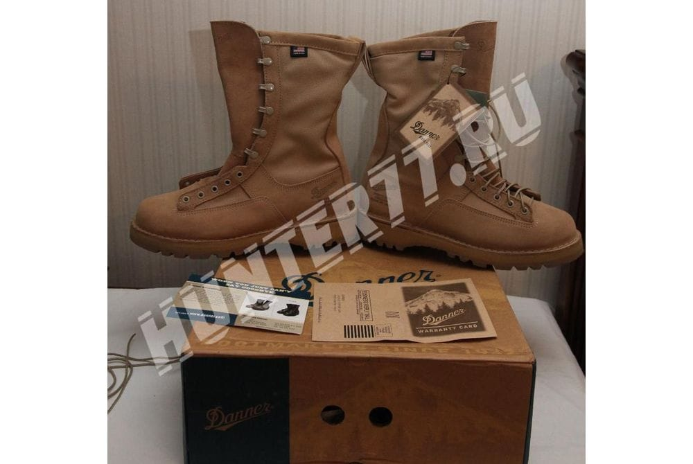 "Берцы Danner 10"" FORT LEWIS LIGHT TAN Gore-tex 29122"