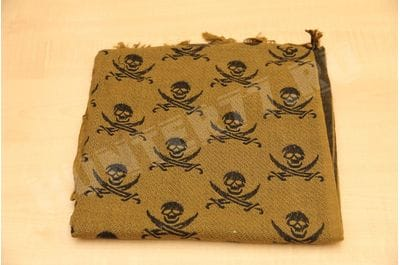 Шемаг Rothco Skulls Coyote Brown