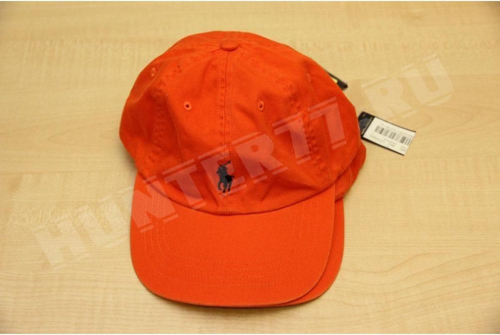 Бейсболка Сигнальная оранжевая