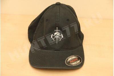 Cap US NAVY black Skull with axes