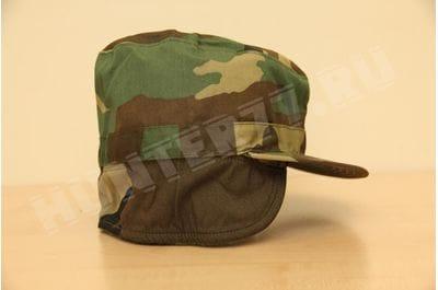 US ARMY MILITARY COMBAT CAP WOODLAND BDU R & B INC