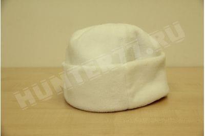 Флисовая шапка 150 белая