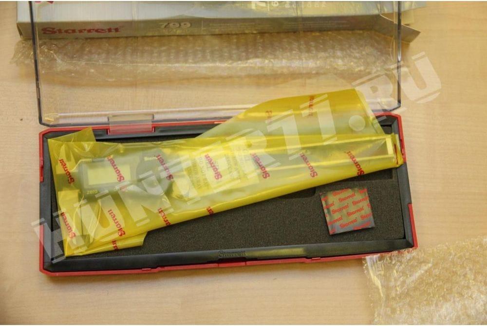 """Цифровой штангенциркуль Starrett 799A +/-0.001""""  6' ELECTRONIC CALIPER КРУГЛЫЙ"""
