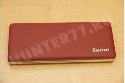 Starrett 943 Hard Case for Starrett 6 Vernier Caliper